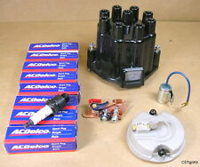 1957 1972 Pontiac All V8 Tune Up kit Bakelite with Blue Rotor, C57IgnKit