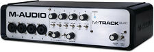 M-Audio M-Track Quad 4x4 USB 2.0 Audio MIDI Interface With 3-Port USB Hub