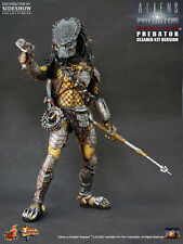 "RARE! HOT TOYS 1/6 AVP ALIEN VS PREDATOR MMS66 WOLF CLEANER KIT VER 14"" FIGURE K"