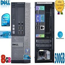 DELL OPTIPLEX 790 SFF INTEL CORE i5.3.10 GHZ.WINDOS 10,2400 .8GB 500GB HD.DVD-RW