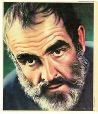 Article on Sean Connery & James Bond with illo in a 1976 TROPIC magazine.