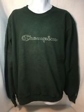 Champion crewneck inside out Reverse sweater Vintage 90s Men's 2XL Embroidered