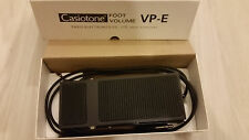 Rare Vinatge Casiotone VP-E Foot Volume Boxed (Made in England)