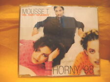 MAXI Single CD MOUSSE T. VS HOT 'N' JUICY Horny '98 5TR house