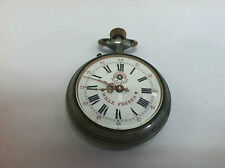 ROSKOPF WILLE FRERES POCKET WATCH PATENT 6269 WIND UP FOR REPAIR VINTAGE