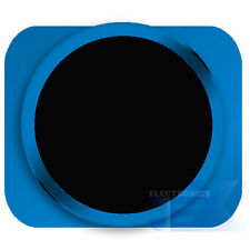 Black With Blue Trim iPhone 5S Style Look/Looking Home button for iPhone 5/5C