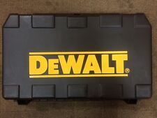 DEWALT XR DCH213 DCH253 DCH273 DCH243 18V SDS HAMMER DRILL CARRY CASE