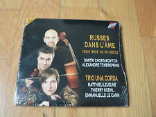 Trio Una Corda - Russes dans l'âme - Shostakovitch & Tcherepnin Trios -CD SEALED