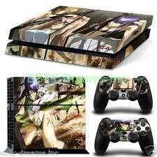 HOTD High School of the Dead Anime Girl Saeko Skin Sticker Decal Protector PS4