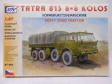 Sdv modèle tatra 813 8 x 8 Kolos NVA pacte de varsovie, poids lourds Kit ho1:87