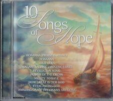 10 SONGS OF HOPE - Christian Music CCM Praise Worship CD