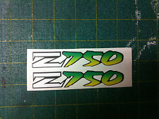 Kawasaki Z750 K6 2006 monster codone  - adesivi/adhesives/stickers/decal
