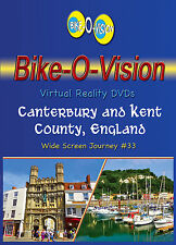 "Bike-O-Vision Cycling Video, ""Canterbury & Kent County, England"" Widescreen"