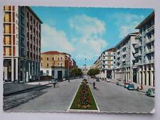 CUNEO Corso Giolitti FIAT 500 vecchia cartolina