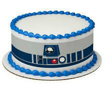 Star Wars R2 D2 cake strips topper frosting sheet icing R2D2 edible image #7420