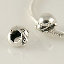 DOLPHIN - Christian - Solid 925 sterling silver European charm bead