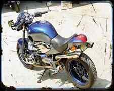 Bmw R1200C Custom 2 A4 Photo Print Motorbike Vintage Aged