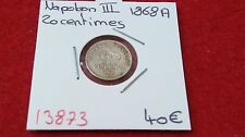 FRANCE NAPOLEON III - 20 CENTIMES- 1868 A - REF13873