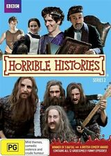 Horrible Histories : Season 2 ( 2 DVD Set ), NEW & SEALED, Region 4....4932