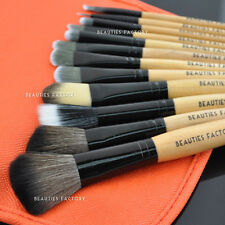 Beauties Factory 12pcs Summer Tomato Makeup Brushes Set Orange Eyeshadow 831B