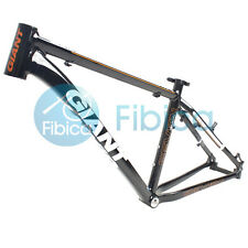 "New GIANT XTC 7 Seven Alloy MTB Mountain Bike Frame BSA 26er 17"" Size S Black"