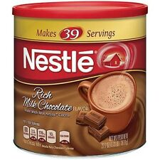 Nestle Milk Chocolate Hot Cocoa Mix, 27.7 oz Nutritional Drink Rich Flavor