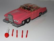 (G) dinky LADY PENELOPE FAB 1  - 100 with spirit bonnet mascot and missiles