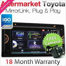 Car DVD GPS Player For Toyota Avensis Verso Kluger MirrorLink Stereo Radio USB