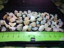 Opal Rough Ethiopian Welo A Lot Flash Fire Multicolors - 251 cts - 65 pieces