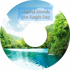 Natural Sounds Hot Jungle Day CD Relaxation Sleep Aid Stress Anxiety Relief Heal