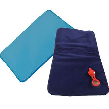 Therapy Insert Sleeping Aid Cold Water Pad Mat Cool Muscle Relief Pillow Blue