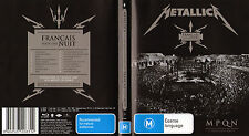 Metallica: Francais Pour Une Nuit (Official Press Bluray) No Bootleg