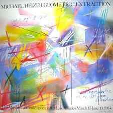 Michael réchauffeur Geometric extraction poster Art Imprimé Image 117x117 CM