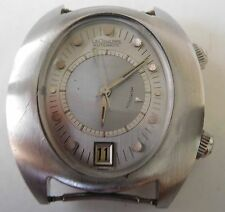 Jaeger LeCoultre Memovox Alarm HPG SS Automatic 916 movement SERVICED vintage