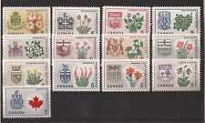 1967 CANADA Centennial Provinces Territories stamp set MINT NEVER HINGED ** MNH