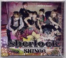 SHINee: Sherlock (2012) Japan / CD & POSTER BOOKLET TAIWAN SEALED