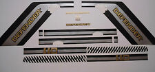 LAND ROVER DEFENDER 110 Aftermarket DECAL Stripes Sticker SET landrover tire