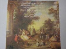 Mozart - Kegelstatt-Trio -Quintett für Klavier... KV 452 & 498- LP Eterna black