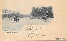 SPAIN - Madrid - Salon del Prado 1901