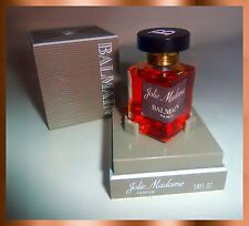 JOLIE MADAME PARFUMS PIERRE BALMAIN PARIS VINTAGE INTACT BOXED PURE PERFUME 8ML