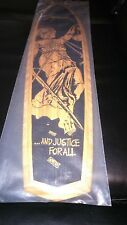 RARE NEW Metallica OFFICIAL VERY LIMITED And Justice For All SKATE DECK #93/250!