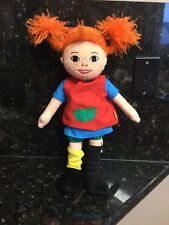 "Micki Pippi Longstocking Plush Doll Around 16""  Very Cute"