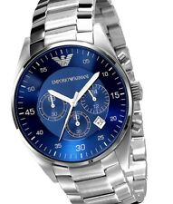 Mens Watch Emporio Armani AR5860 Blue Dial Original Package
