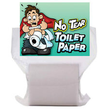 NO TEAR TOILET PAPER JOKE FOR FUN PARTY ACCESSORY