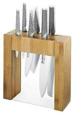 BRAND NEW Global Ikasu 7pc Knife Block Set RPP $859.00 Authorised Seller