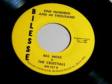 BILL MOSS & CELESTIALS~EVERYTHING IS GOING TO BE ALLRIGHT ~NM~NORTHERN SOUL 45