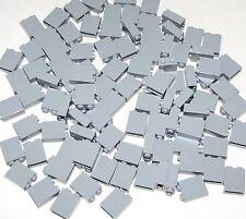 LEGO LOT OF 100 NEW LIGHT BLUISH GREY 1 X 2 X 2 BRICKS BUILDING BLOCKS