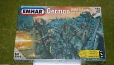 WW1 German Infantry & Tank Crew 1/72 Emhar 7203