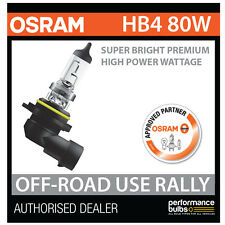 NEW! 69006SBP OSRAM HB4 9006 80W SUPER BRIGHT PREMIUM OFF-ROAD RALLY BULB (x1)