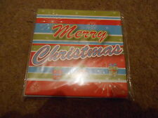 SET OF 10 MERRY CHRISTMAS GREETING CARDS